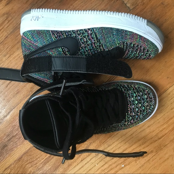 wholesale dealer a456a b04b0 Nike Air Force 1 Ultra Flyknit Mid Multi-Color 2.0.  M 5ba55cd6534ef95754ab7d2a